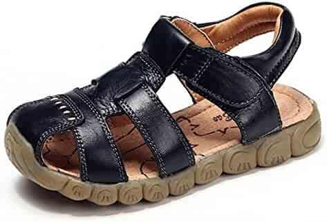 9c29f2518ff Zicoope Leather Outdoor Sport Sandals for Boys (Toddler Little Kid)