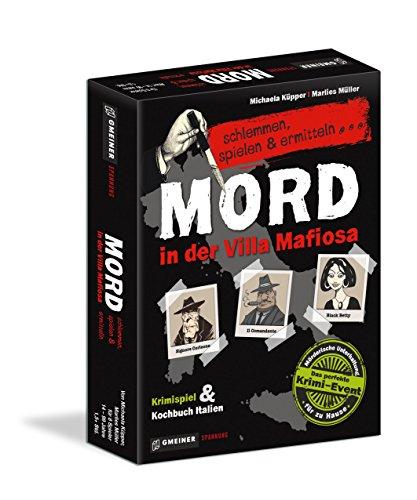 Gmeiner 581581 - Mord in der Villa Mafiosa, Kriminalspiel