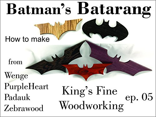 How to Make Batman's Batarang]()