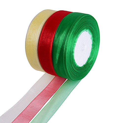 Christmas Gift Wrap Ribbon Wrapping Accessory for Christmas Gifts, Gift Wrapping and Decoration - Gifts Snl Christmas