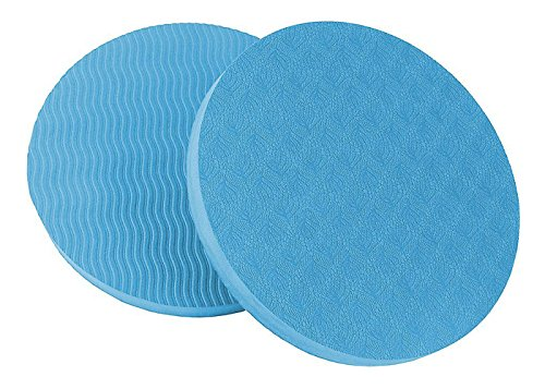 Goyonder Eco Yoga Workout Knee Pad Cushion Sky Blue Pack