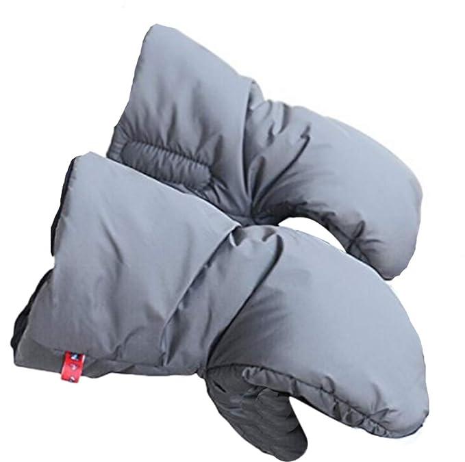 Universal Stroller Hand Muff - Guantes de carrito de bebé - Accesorios de cochecito de invierno cálido extragrueso anticongelante y de alta resistencia: ...