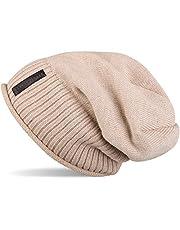 styleBREAKER warme fijn gebreide muts met zeer zachte fleece voering, uniseks 04024065