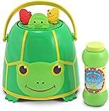 Melissa & Doug Sunny Patch Tootle Turtle Bubble Bucket