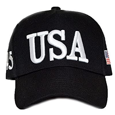 American Election Hat Cap USA Flag Baseball Hat Embroideried Plain Hat for Outdoor Sports Camping