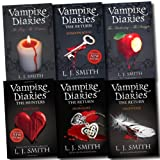 vampire diaries collection l j smith 6 books set 1 to 8 series phantom etc