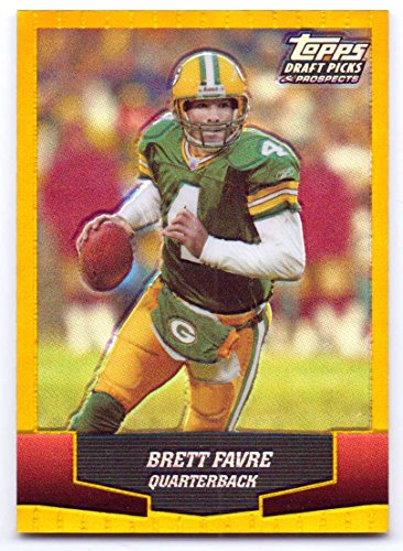 Brett Favre 2004 Topps Draft Picks & Prospects Gold Chrome #40 - Green Bay Packers ()
