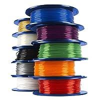 Dremel 3D Printer Filament, 1.75 mm Diameter, 0.5 kg Spool Weight from ROBERT BOSCH TOOL - DREMEL