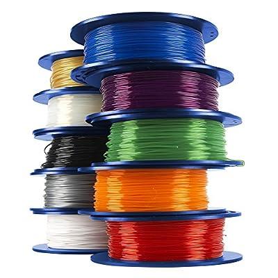 Dremel 3D Printer Filament, 1.75 mm Diameter, 0.5 kg Spool Weight