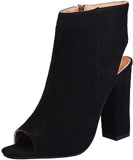 Donne Moda Sandali Scamosciato Solido Colore Sandali Peep Toe Cunei Alto Heeled Scarpe Sandali Sandali da donna
