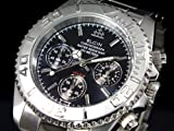 ELGIN watch chronograph watch black FK1120S-BN men