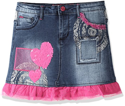 Desigual Girls' Denim Skirt Gargalla, Sizes 5-14 (11/12) by Desigual