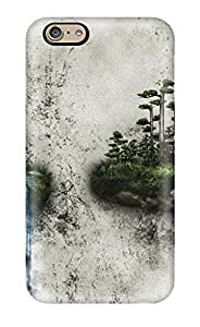 Anti-scratch And Shatterproof Two Islands On A Wall Phone Case For Iphone 6/ High Quality Tpu Case