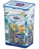 Lock & Lock Rectangular Storage Container - Clear/Blue, 1.3 L