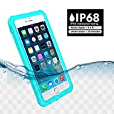 iPhone 6/6s Waterproof Case(Not Plus), Besinpo Underwater Full Body protection Cases Drop Proof Cover Fully Supports Finger Print Function For Iphone 6/6s 4.7 inch Only