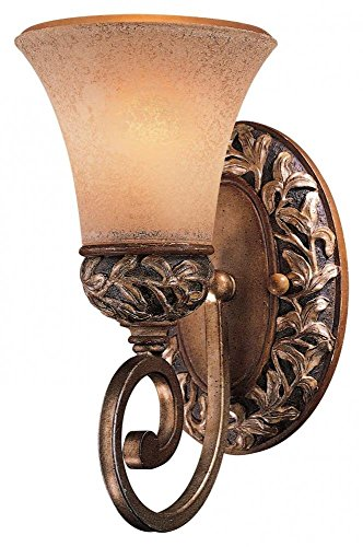 - Florence Patina 1 Light Wall Sconce from the Salon Grand Collection Model-5551-477
