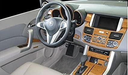 ACURA RDX INTERIOR WOOD DASH TRIM KIT SET 2008 2009 2010 2011 2012