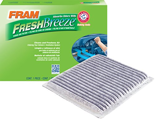 FRAM CF9846A Fresh Breeze Cabin Air Filter with Arm & Hammer