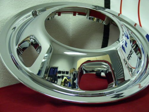 Dodge 3500 Dually 17'' Plastic Front Wheel Simulator Hubcap Liner--replacement copy of 52106937AB by beico (Image #2)