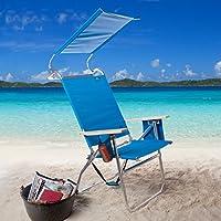 Copa 4-Position Big Tycoon Canopy Beach Chair