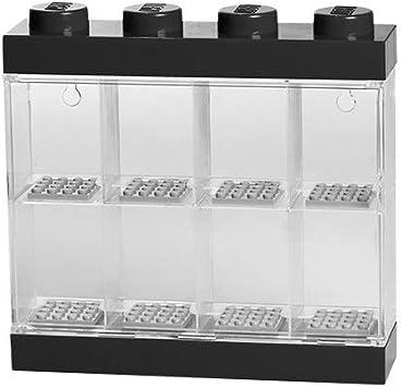 LEGO - Caja de almacenaje para Minifiguras, Color Negro (40650603): Amazon.es: Juguetes y juegos