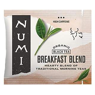 Numi Organic Tea Breakfast Blend, 100 Count Box of Tea Bags, Black Tea (Packaging May Vary)