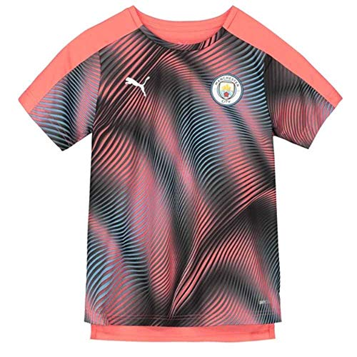 - PUMA 2019-2020 Manchester City Stadium Jersey (Peach) - Kids