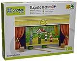 Andreu Toys 32x 15x 20,5cm Théâtre Magnétique Jeu (Multicolore)