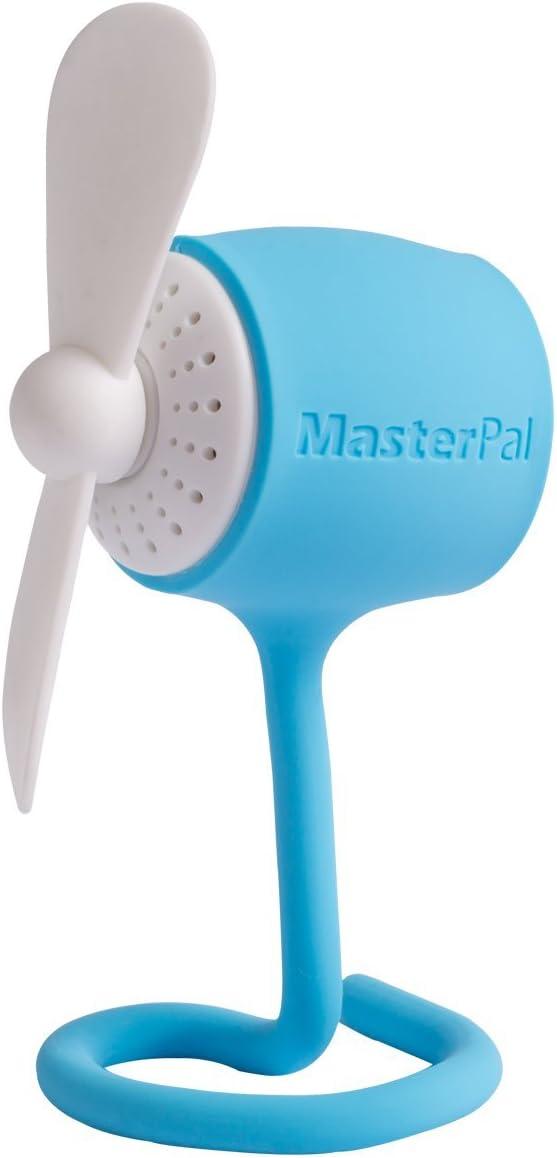 Ventilador Telego Masterpal mini silencioso (Azul): Un ventilador ...