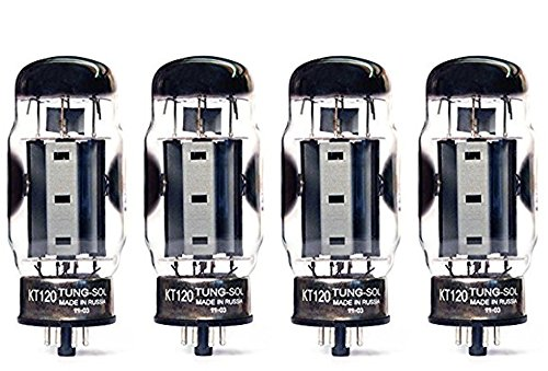 Tung-Sol KT120 Power Vacuum Tube Platinum Matched Quad
