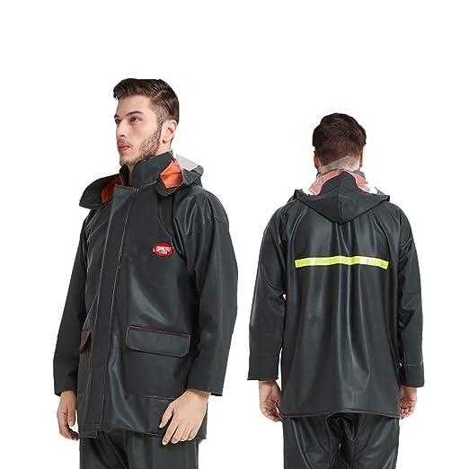 LGQ-HW Chaqueta Impermeable para Hombre/Mujer/Pantalones Traje ...