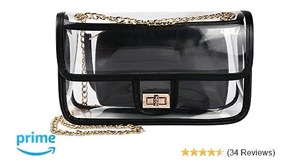 Amazon.com  Clear Crossbody Bag for Women 5aec6472f