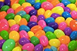 1000 Bulk Hinged Easter Eggs Assorted Size & Colors High Quality Easter Eggs