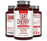 Extra Strength Tart Cherry Extract 1500mg Plus Celery Seed and Bilberry Extract -Anti Inflammatory, Antioxidant Supplement, Uric Acid Support, Muscle Recovery and Joint Pain -90 Veggie Capsules​ Review