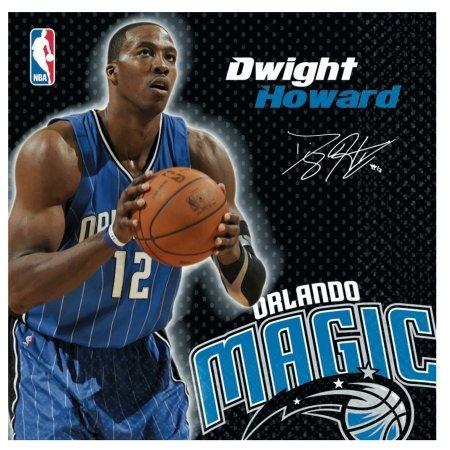 - Amscan 203665 Orlando Magic Dwight Howard Basketball - Lunch Napkins