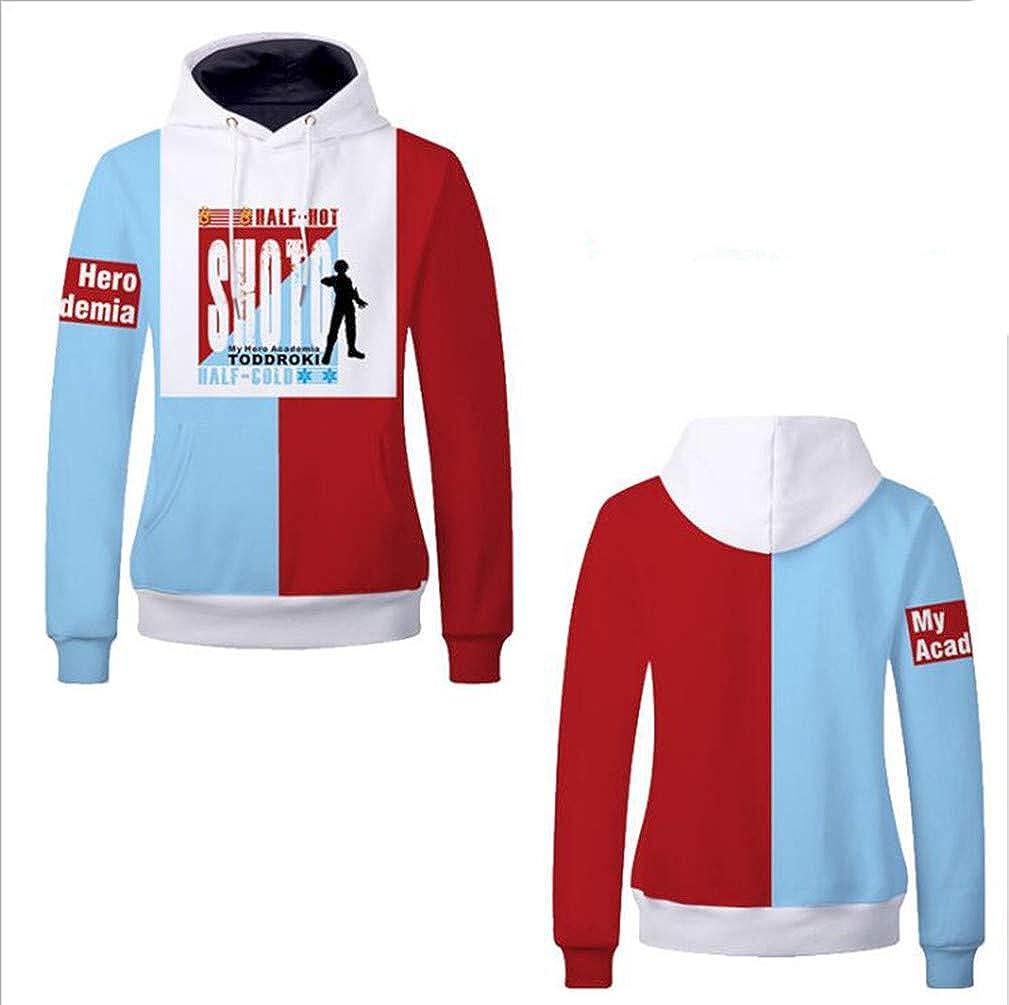 Cosstars My Hero Hero Hero Academia Anime Kapuzenpullover Sweatshirt Cosplay Kostüm Pullover Hoodie Sweater Top Mantel B07L546BSH Kapuzenpullover Feines Nähen b0bd5e