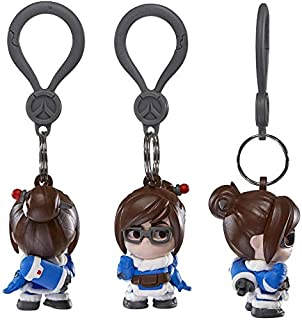 Amazon.com: JINX Overwatch Mei - Llavero de goma (multicolor ...