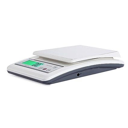 ZNND Básculas De Cocina Digital, Baterías De Pantalla LCD Electrónica De Alta Precisión Operadas Básculas