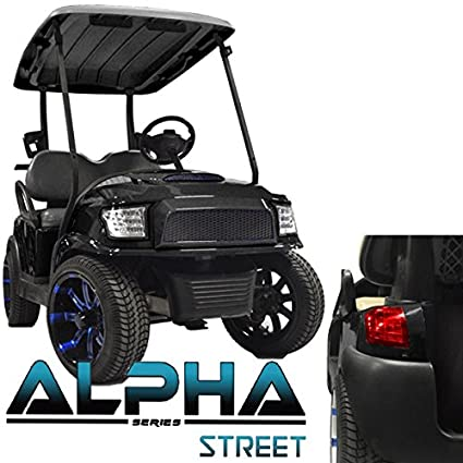 Madjax NEW!!! Club Car Precedent ALPHA Street Style Kit in Black on