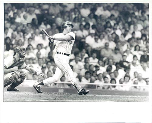 Vintage Photos 1988 Press Photo MLB Detroit Tigers Third Baseman Darrell Evans - rkf18871