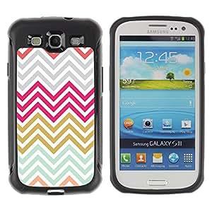 "Pulsar iFace Series Tpu silicona Carcasa Funda Case para Samsung Galaxy S3 III I9300 , Oro gris púrpura azul"""