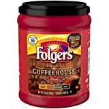 Folgers Coffeehouse Blend Ground Coffee, Medium-Dark Roast, 10.8 Ounce