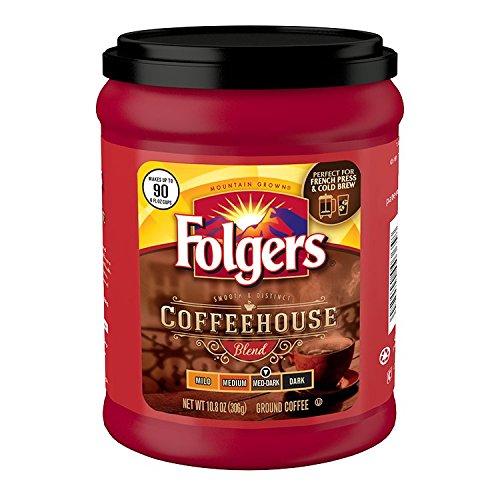 Folgers Coffeehouse Ground Coffee Medium Dark
