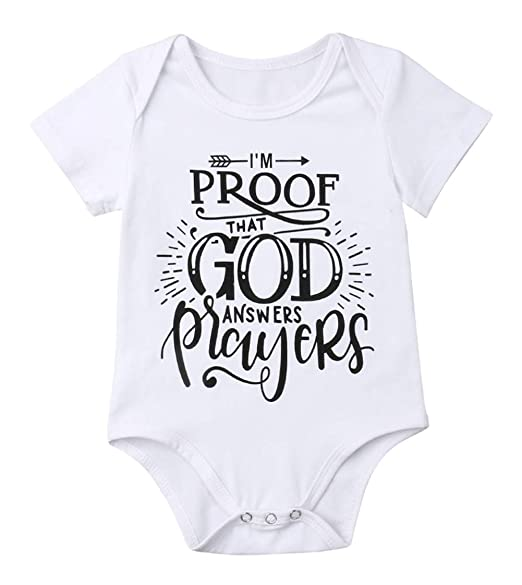 779678529 Amazon.com: Baby Boys Girls Newborn Funny Bodysuits Infant Cotton Rompers  Outfits: Clothing