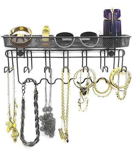 Sorbus Jewelry Organizer Mounted Storage