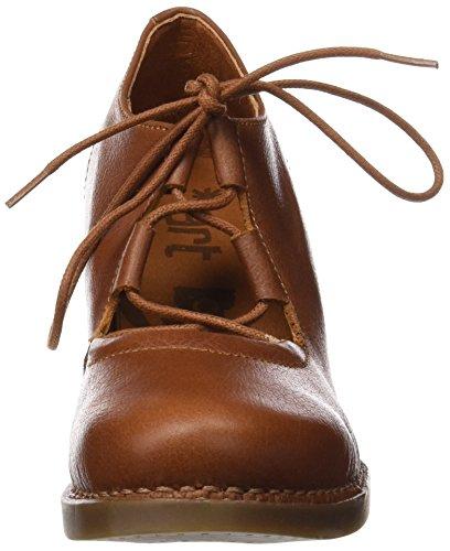 ART 1061 Memphis Harlem, Zapatos de Tacón con Punta Cerrada para Mujer Marrón (Cuero)