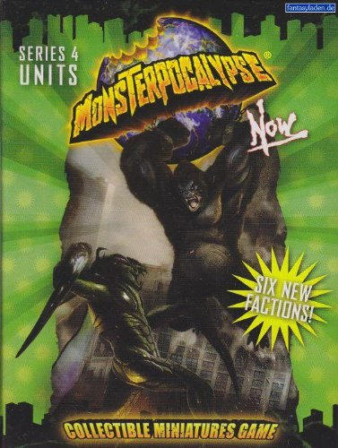 Monsterpocalypse Rise (Monsterpocalypse NOW Series 4 Unit Booster)