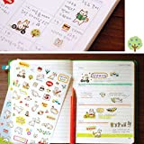 Stickers For Adults - Stickers For Teens - Cute Lovely 6 Sheet Paper Stickers for Diary Scrapbook Notebook Wall Decor Cartoon Scrapbooking Stickers Children Play Toys - Stickers For Cars - Name:Paper sticker Condition: 100% Brand new and high...