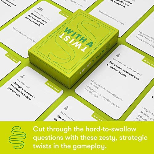 Truth or Drink Fun Drinking Card Game for Adults | Waterproof Cards, Over 400 Questions Included | For Game Nights, College, Camping, Beach Day or Funny Gift