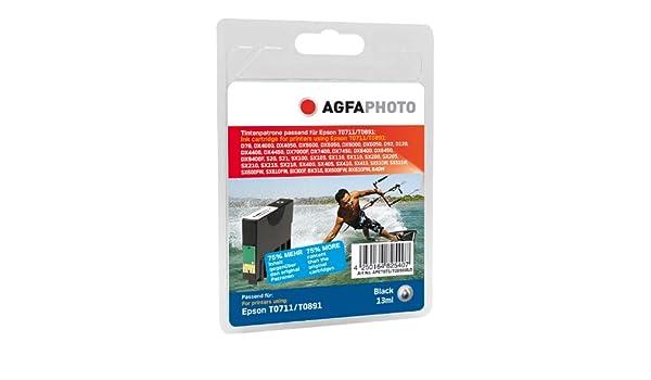 AgfaPhoto APET071_T089BXLD cartucho de tinta Negro - Cartucho de ...